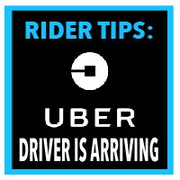 uber colorado driver arriving rider tips