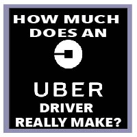 how much uber driver make